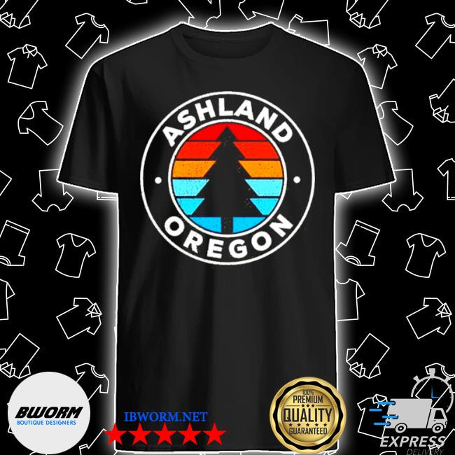 Ashland oregon or vintage graphic retro shirt