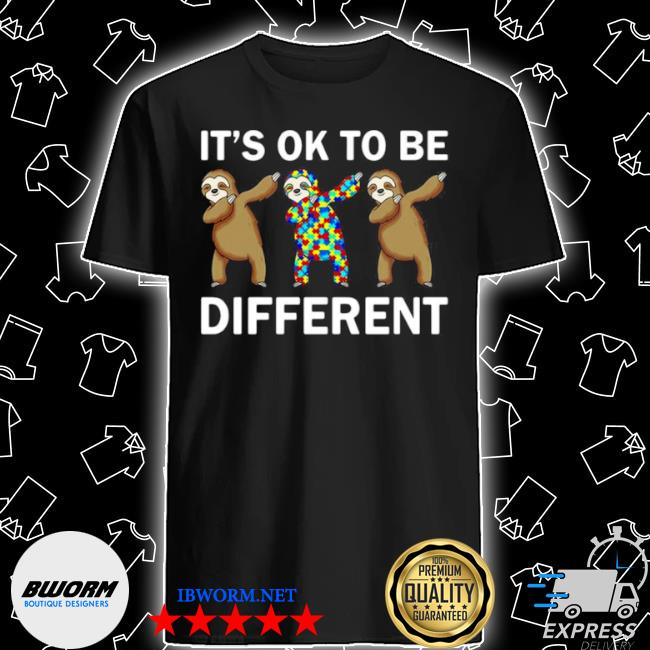 Autism beer it's ok to be different shirt