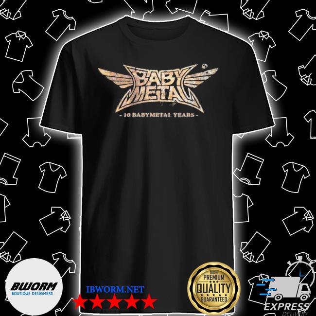 Babymetal store 10 babymetal years shirt