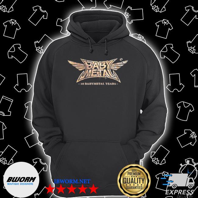 Babymetal store 10 babymetal years Unisex Hoodie