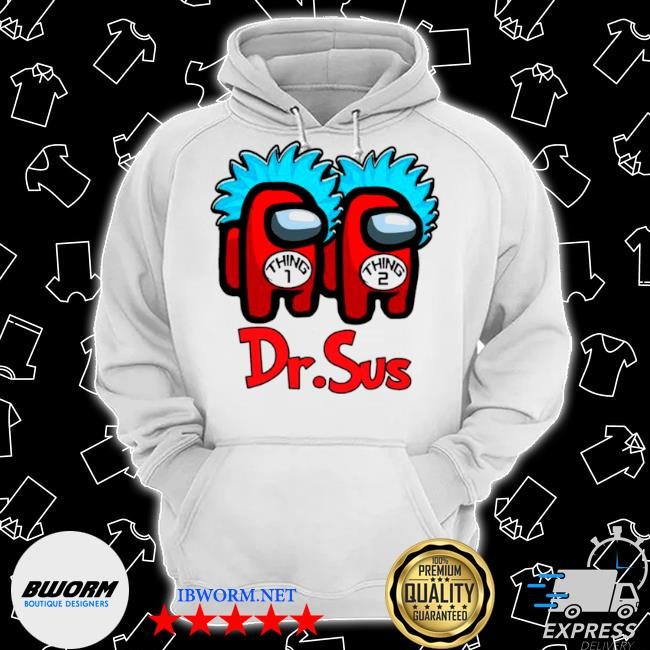 Dr.sus couple among us impostor Classic Hoodie