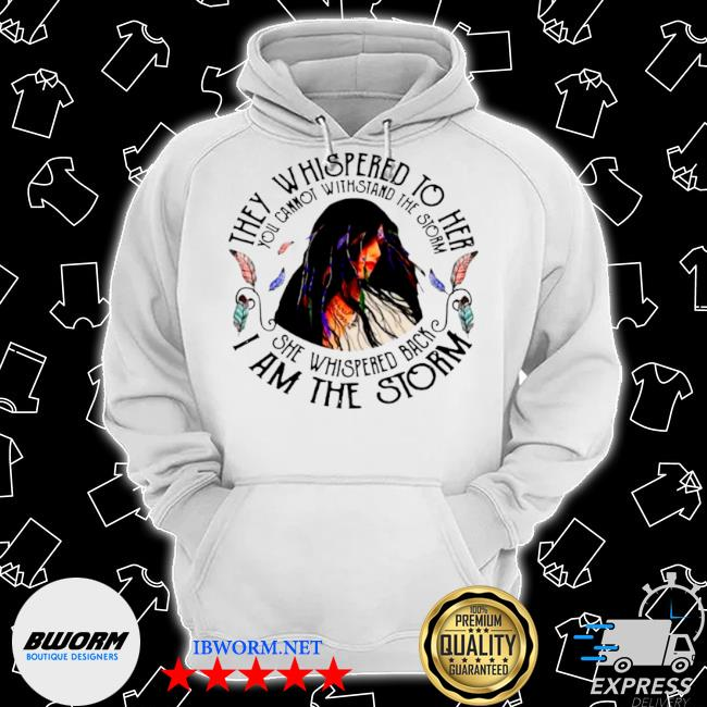 Girl they whispered to her she whispered back I am Classic Hoodie