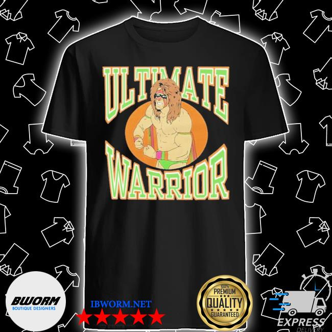 Homage the ultimate warrior shirt