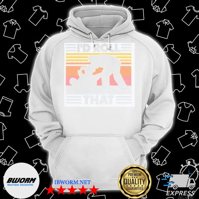 I'd roll that vintage retro Classic Hoodie