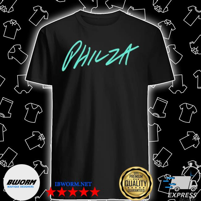 Ph1lza blue crossed hardcore hearts shirt