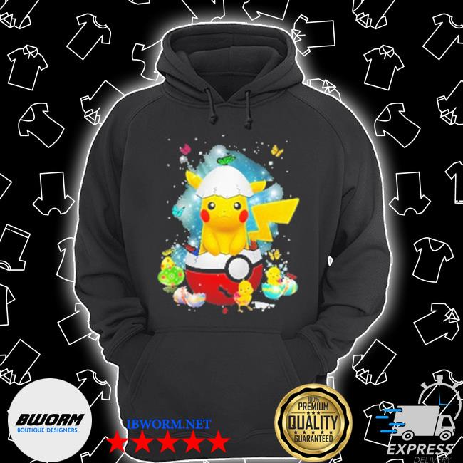 Pikachu Pokemon and Chicken Unisex Hoodie