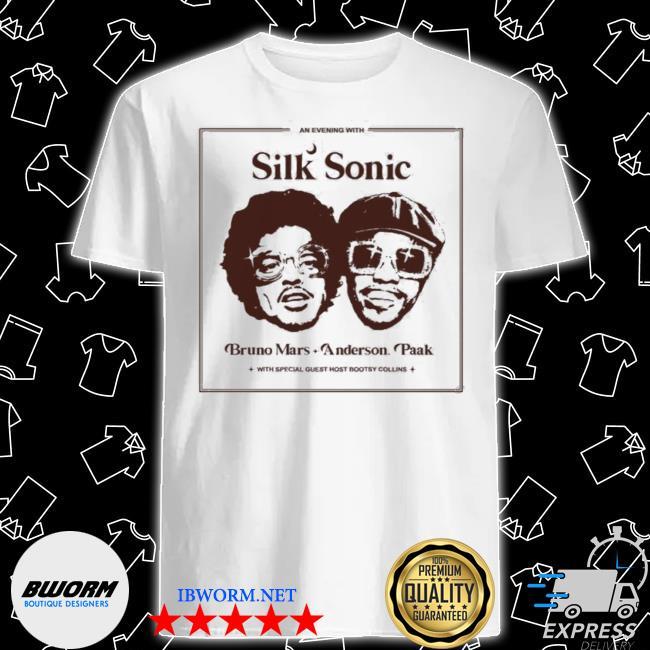 Silk sonic anderson paak bruno mars shirt