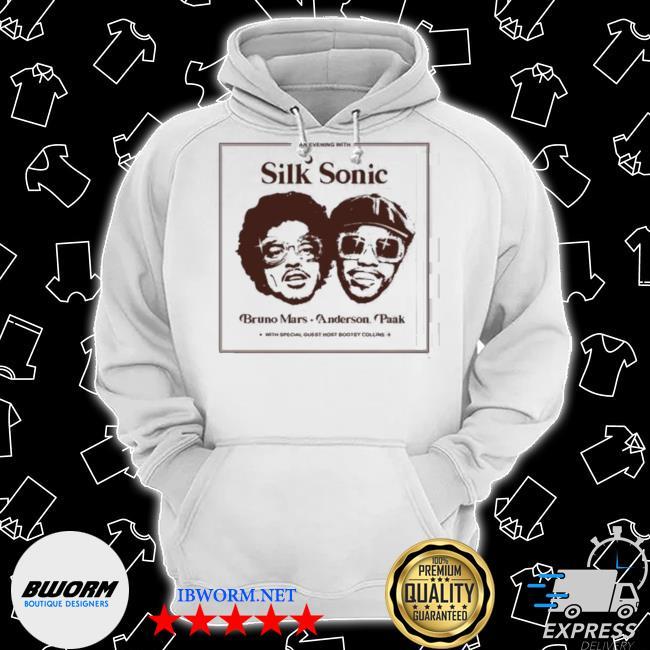 Silk sonic anderson paak bruno mars Classic Hoodie