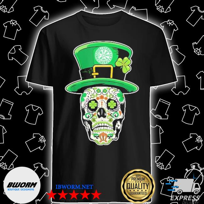 Sugar Skull happy Irish shirt