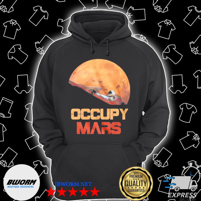 The occupy mars starman Unisex Hoodie