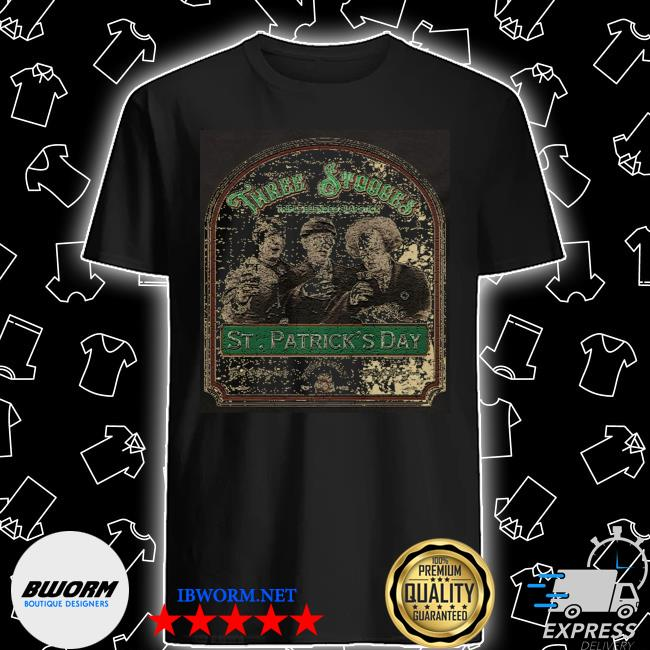 Three stooges St Patrick's day shirt