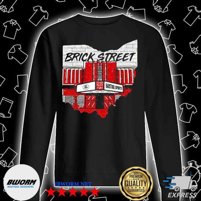 Barstool best bar 2021 brick street Unisex Sweatshirt