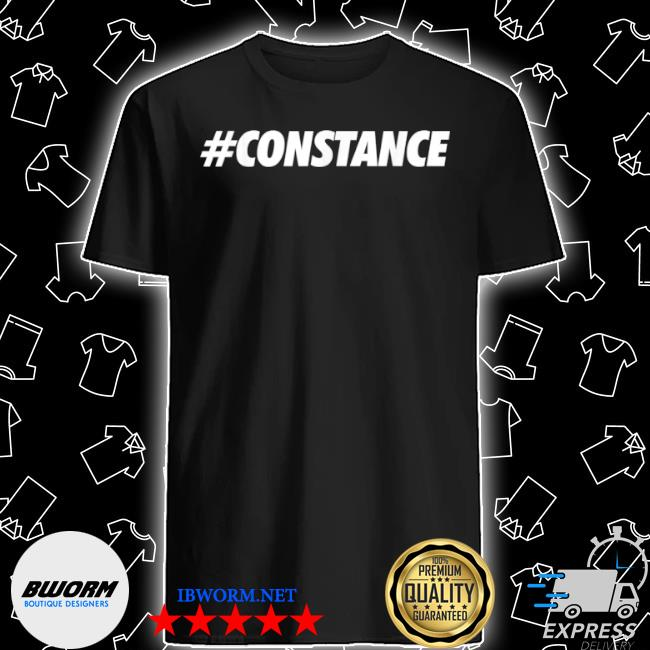 #constance hashtag social network media constance name shirt