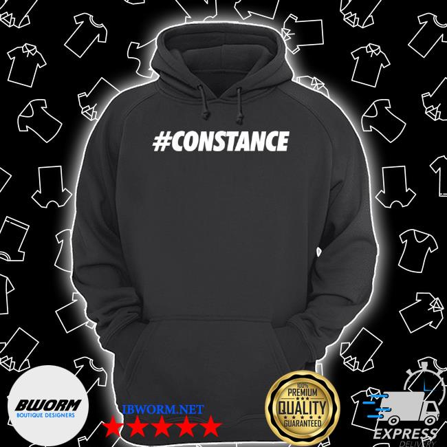 #constance hashtag social network media constance name Unisex Hoodie
