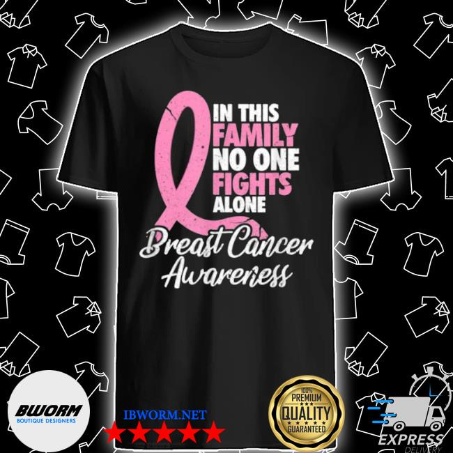 Breast cancer awareness for a breast cancer warrior shirt