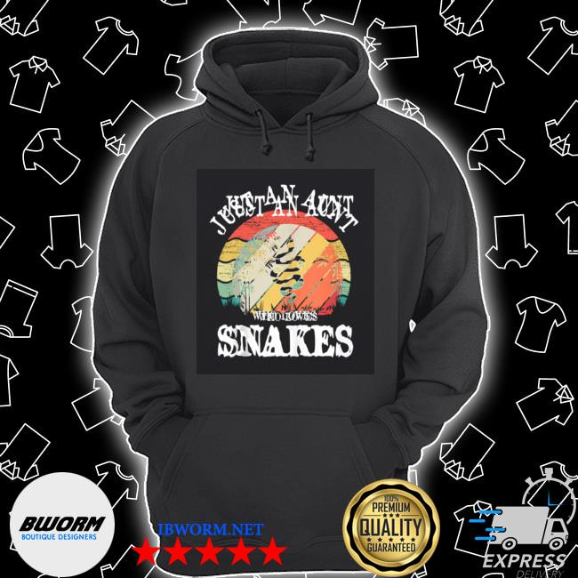 Just an aunt who loves snakes Unisex Hoodie