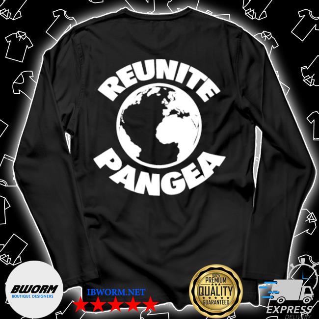 Reunite pangea geologist geology geographic history Unisex Long Sleeve Tee