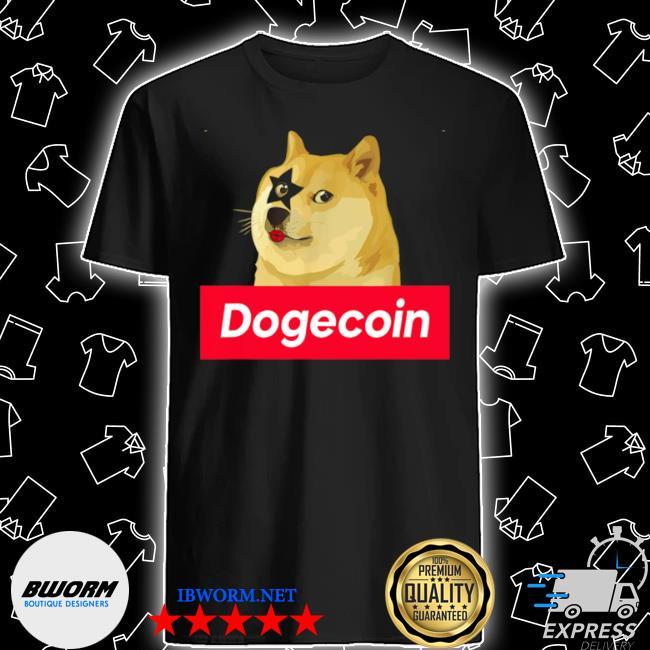 Rock rockin dog hodl dogecoin crypto doge hodler shirt