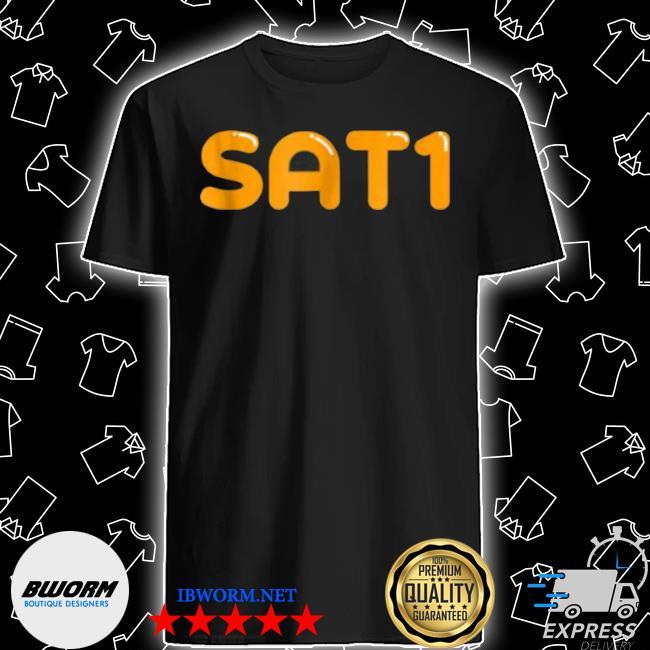 Sat1 shiny text by swagazon shirt