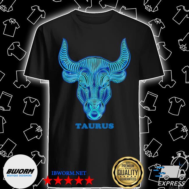 Taurus personality astrology zodiac sign horoscope design shirt