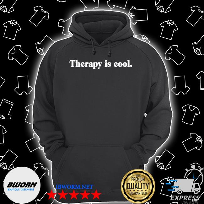 Therapy is cool Unisex Hoodie