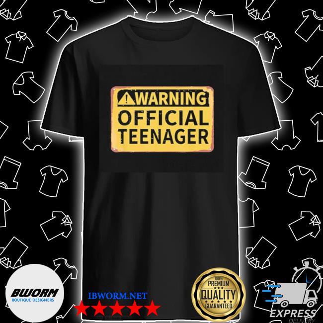Warning nager shirt