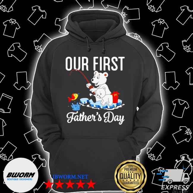 Happy first father's day our first daddy and olivia Unisex Hoodie