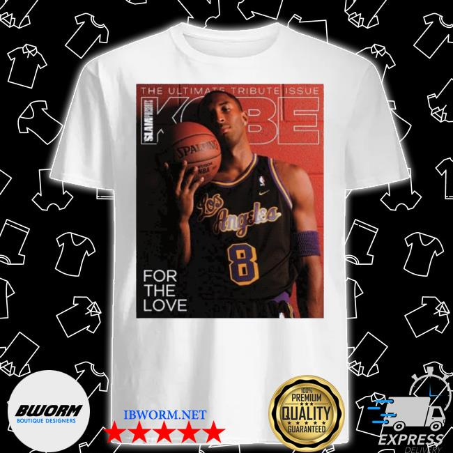 Slam presents kobe shirt