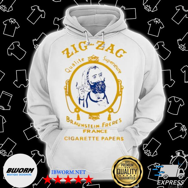 Zigzag braumsteim freres france cigarette papers smoking weed cigarettes Classic Hoodie