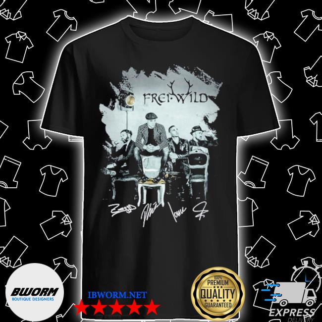 Ffrei wild frei wild 20th anniversary 2001 2021 shirt