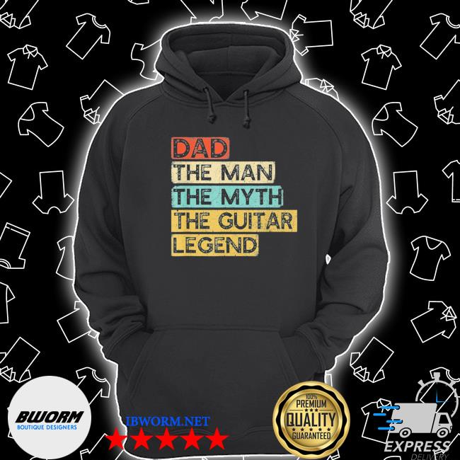 Guitar dad legend guitarist father's day guitar player us 2021 s Unisex Hoodie