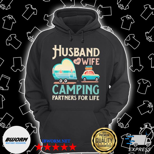 Husband and wife camping partners for life s Unisex Hoodie