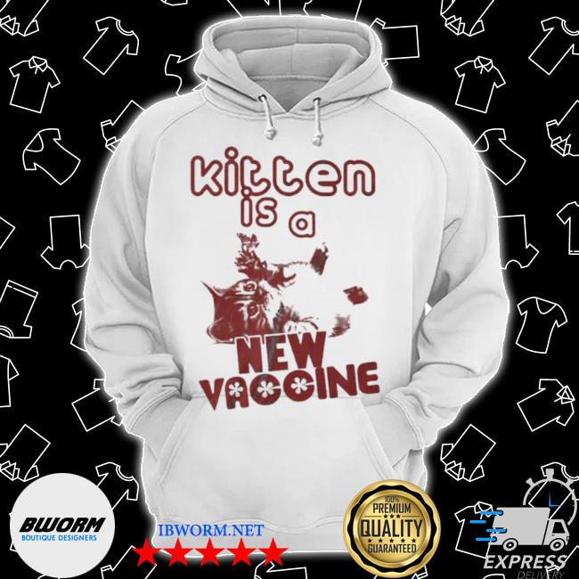 Official cat kitten is a new vaccine s Classic Hoodie