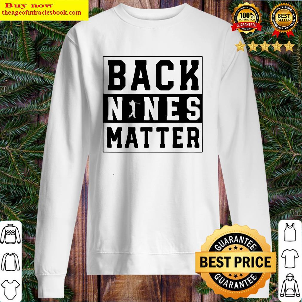 Back Nines Matter Golf Sweater