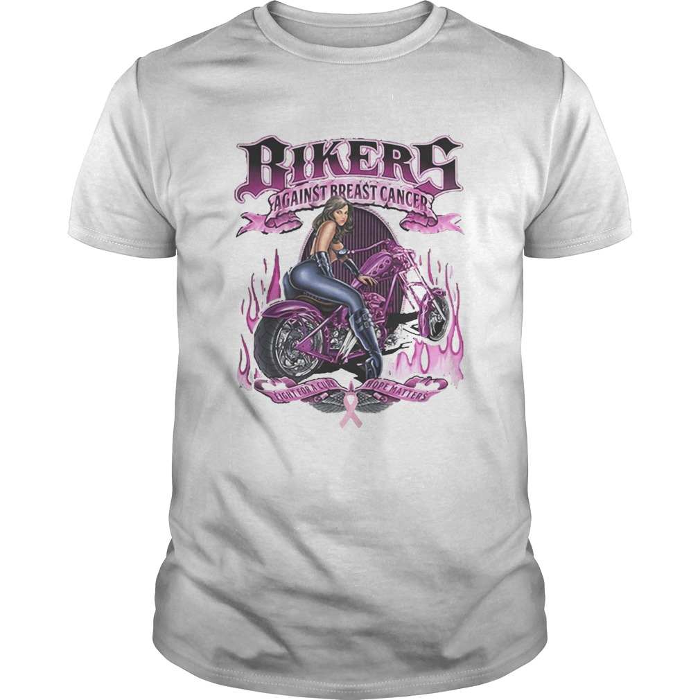 Bikers against breats cancer fight for a cure hope matters Unisex