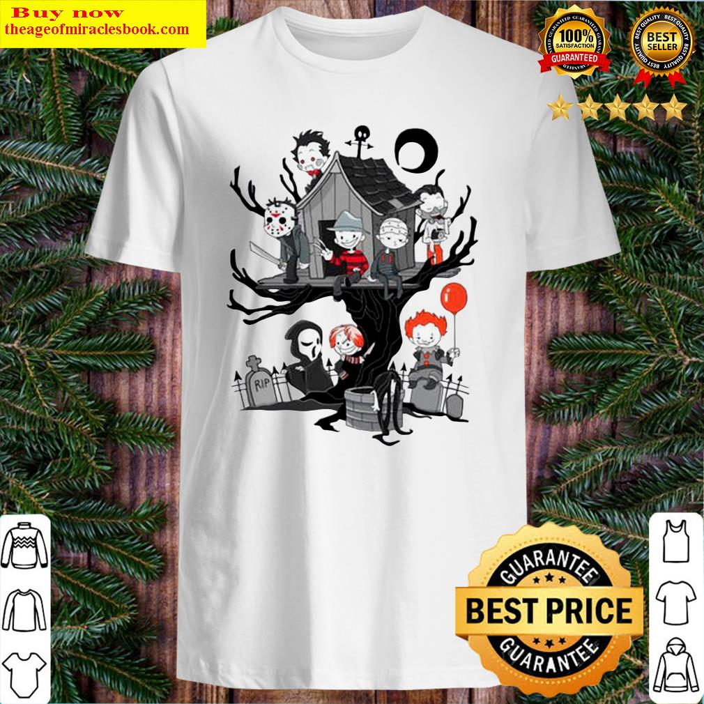 Horror Park Halloween Horror Chibi Characters Shirt