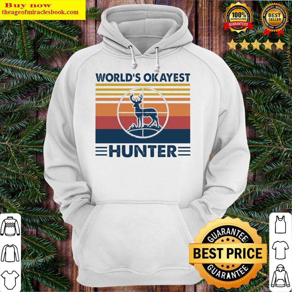 Hunting world's okayest hunter vintage Hoodie