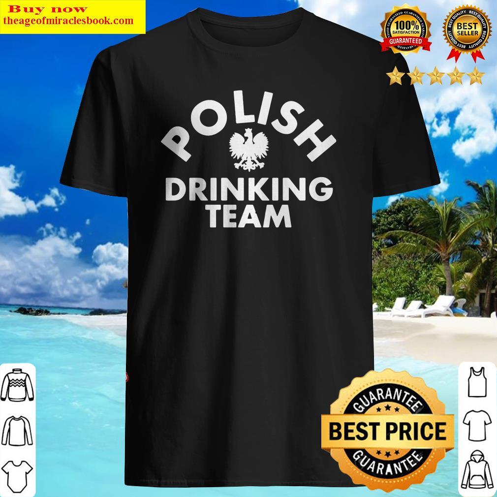 Official polish drinking team Shirt