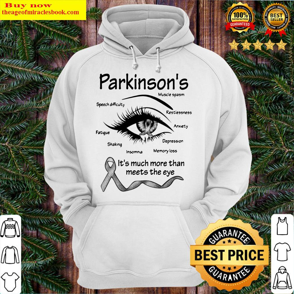 Parkinson's muscle spasm speech difficulty restlessness fatigue Hoodie