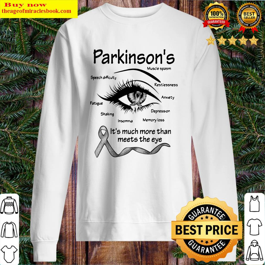 Parkinson's muscle spasm speech difficulty restlessness fatigue Sweater