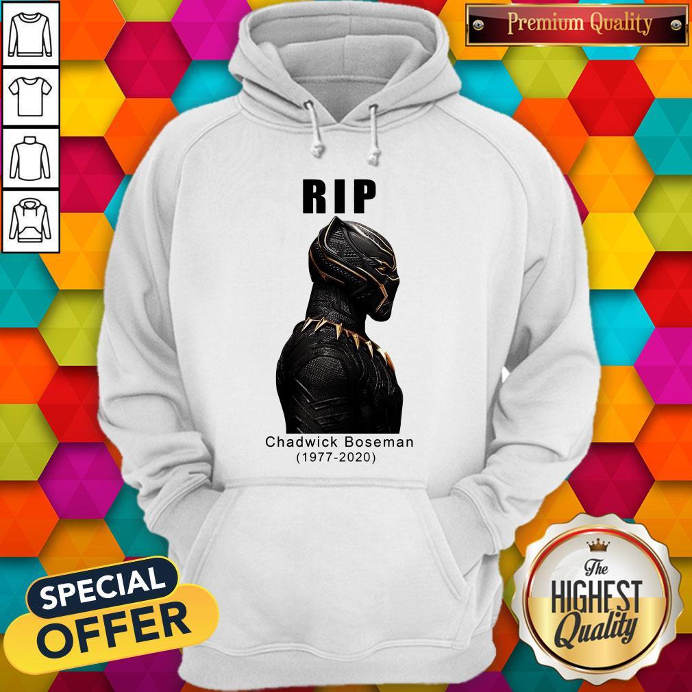 RIP Black Panther's Chadwick Boseman Hoodie