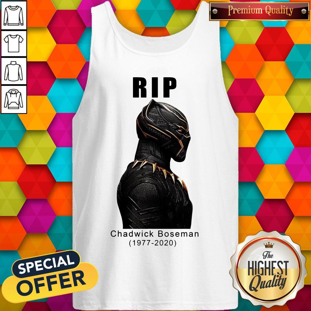 RIP Black Panther's Chadwick Boseman Tank Top