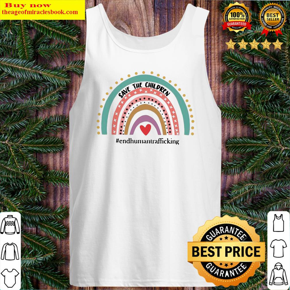 Save The Children End Human Trafficking Tank Top