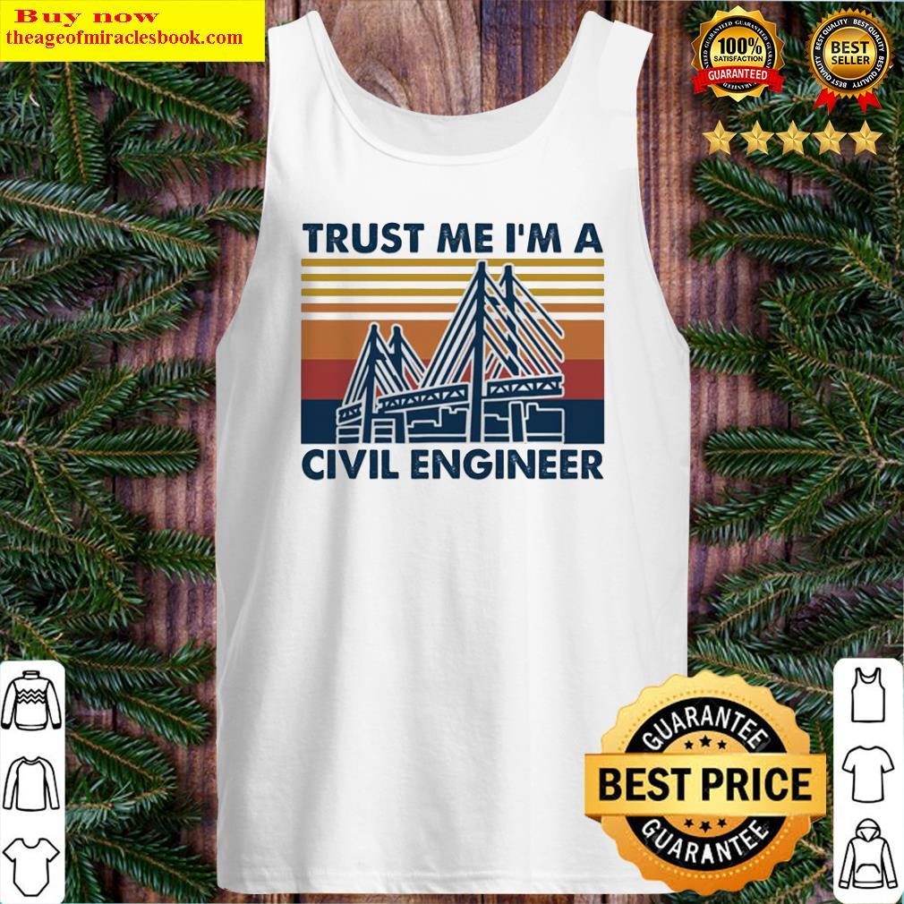 Trust me I'm a civil engineer vintage Tank Top
