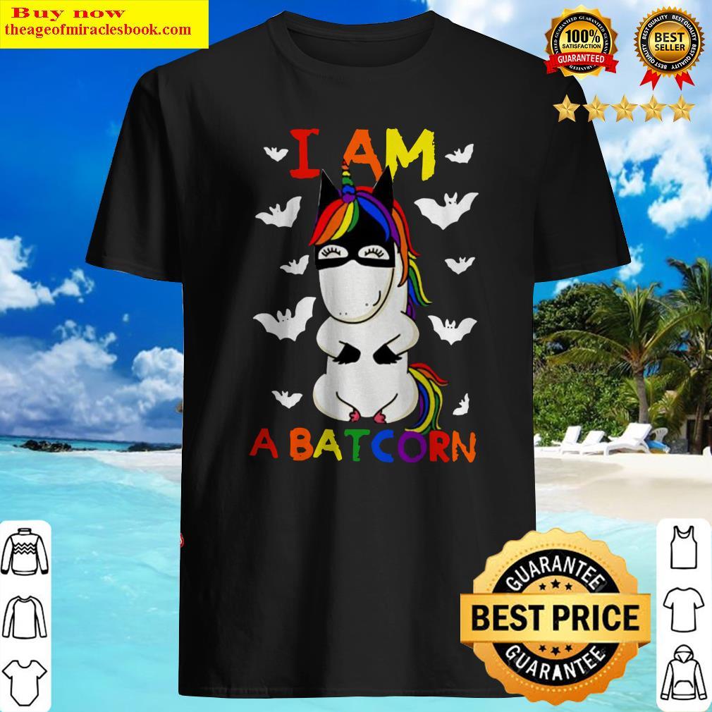 Unicorn I am a Batcorn LGBT Shirt