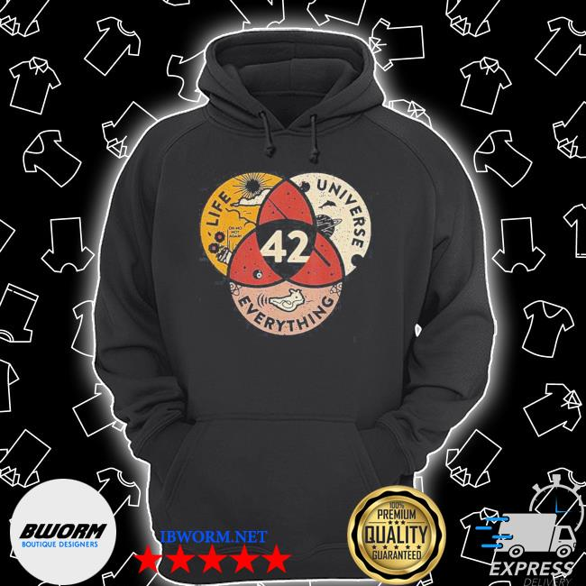 42 answer to life universe and everything s Unisex Hoodie