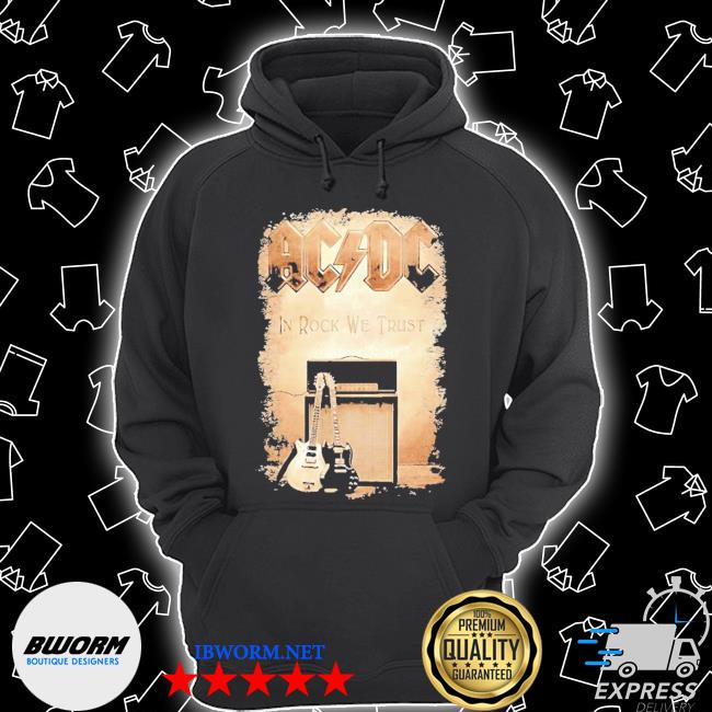 ACDC band in rock we trust s Unisex Hoodie