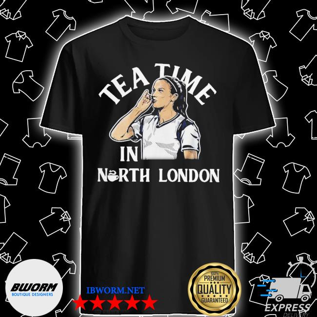 Alex morgan tea time in north london shirt