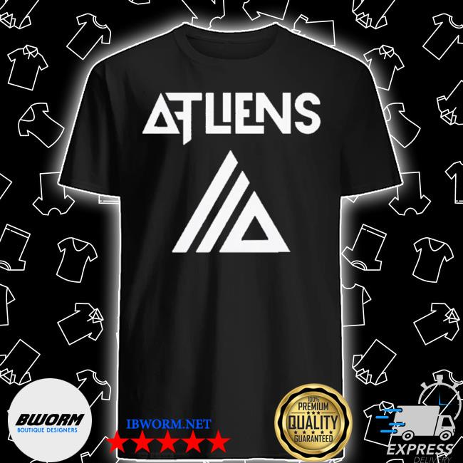 Atliens merch galaxy logo baseball shirt