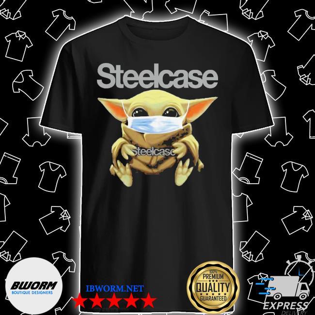 Baby yoda mask hulk steelcase coronavirus shirt